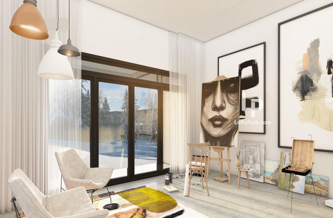 modular home additions, pod houses Tremblant