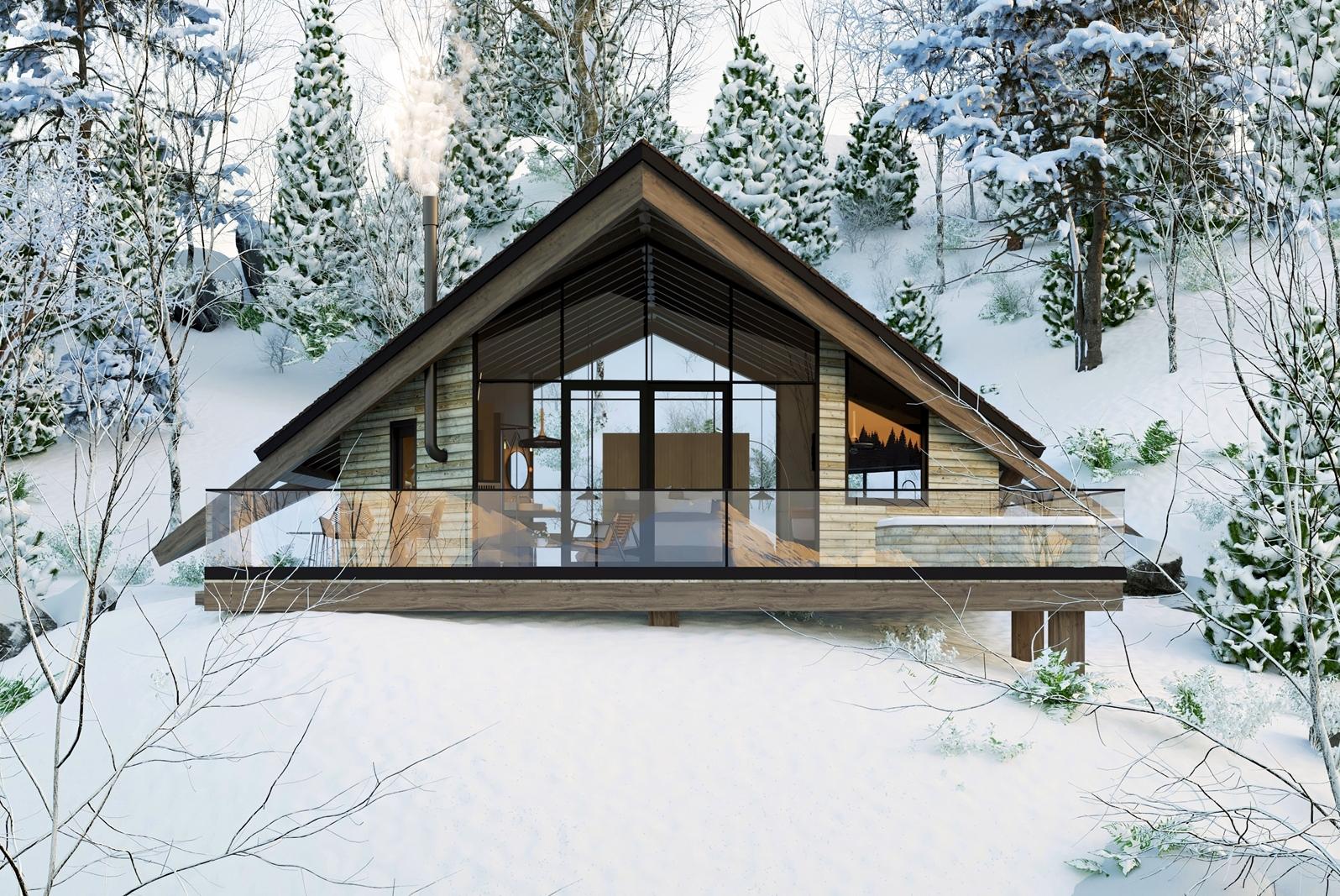 modern tiny home